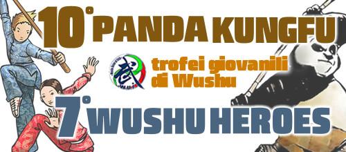 TROFEI PANDA KUNGFU E WUSHU HEROES