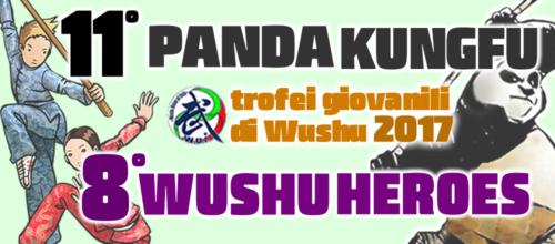 Tornano i trofei Panda Kungfu e Wushu Heroes