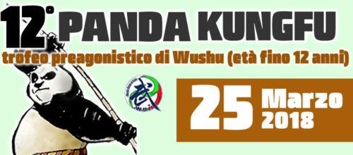 12° TROFEO PANDA KUNGFU