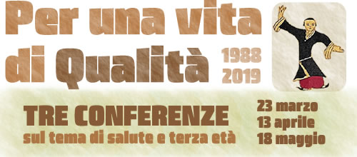 "Conferenze ""per una vita di qualità"""